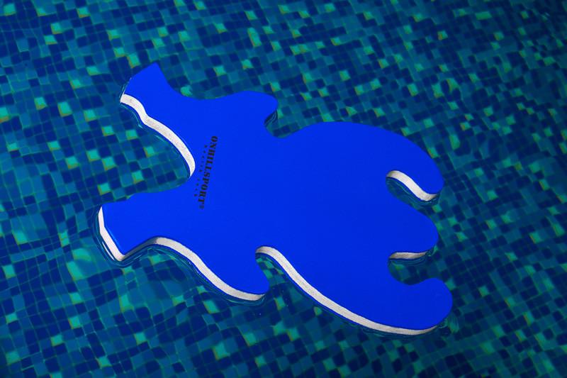 """Доска для плавания    """"Лягушка"""" 42*27,5*2,5 см"""