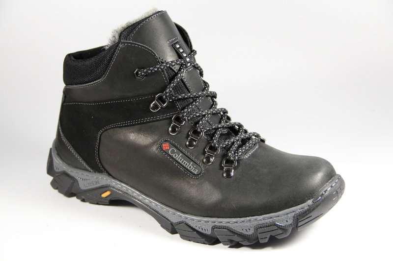 Мужские зимние кожаные ботинки больших размеров 46 240baf64dd000