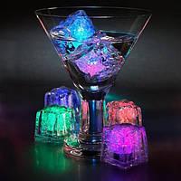 Кубики льда с подсветкой