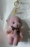 150 Брелок Игрушка Hade made Мишка, брелки для сумок и ключей, подарки. Длина 18 см