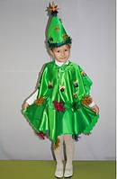 Детский новогодний карнавальный костюм елочки