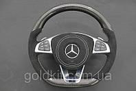 Руль на Mercedes G55 G63 G65 G500 G800 G900 G-Class W463 Карбон Carbon, фото 1