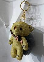 151 Брелки Игрушки Hade made Мишки, брелки для сумок и ключей, подарки. Длина 18 см