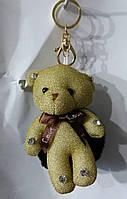 152 Игрушки брелки Hade made Мишки, брелки для сумок и ключей, подарки. Длина 18 см