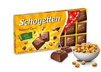 Молочный шоколад Schogetten Roasted Corn ,100 г