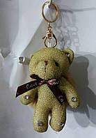 153 Игрушка, брелки Hade made Мишки, брелки для сумок и ключей, подарки. Длина 18 см