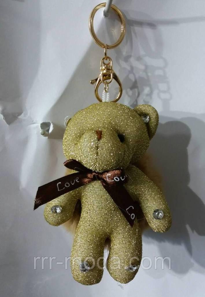 153 Игрушка, брелки Hade made Мишки, брелки для сумок и ключей, подарки. Длина 18 см - Бижутерия оптом «R. R. R.» в Одессе