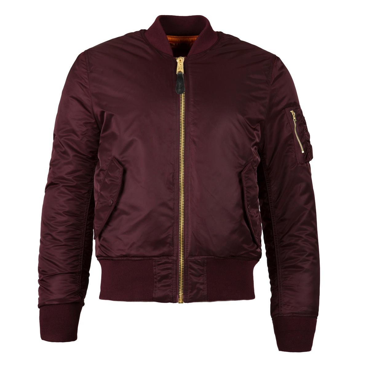 Куртка MA-1 SLIM FIT FLIGHT JACKET Alpha Industries демисезонная