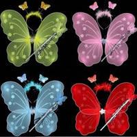 Набор карнавальный  с крыльями   бабочки