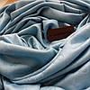 Платок Louis Vuitton голубой, фото 2