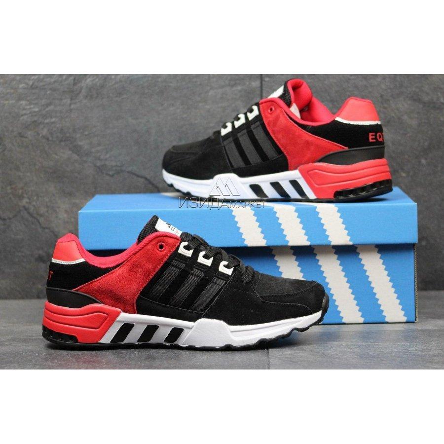 f3b1c4cf469bcd Чоловічі кросівки 3583 Adidas Equipment чорні з червоним, цена 862  грн./пара, купить в Хмельницком — Prom.ua (ID#606300640)
