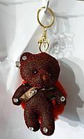 155 Мишка, брелки Hade made Мишки, брелки для сумок и ключей, подарки. Длина 18 см