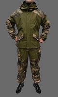 Костюм утепленный Горка камуфлированный с флисовой подстежкой из палаточной ткани