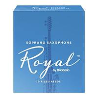 Трости для сопрано саксофона RICO Royal - Soprano Sax #2.5 - 10 Box