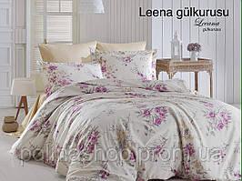 """Комплект постельного белья FIRST CHOICE Сатин """"Leena!"""" gulkurusu Евро"""