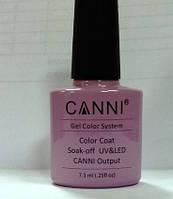 Гель лак Canni 244элегантный светлый фиолет