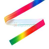 Тесьма эластичная для повязок, РАДУЖНАЯ, 15 мм