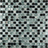 Мозаика Vivacer Мрамор стекло DAF23 30x30/1.5x1.5