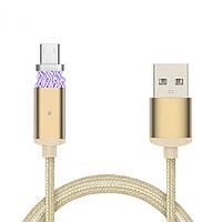 Кабель USB Micro USB Metal Magnetic магнитный кабель