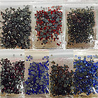 Камни стразы для ногтей 1400 шт