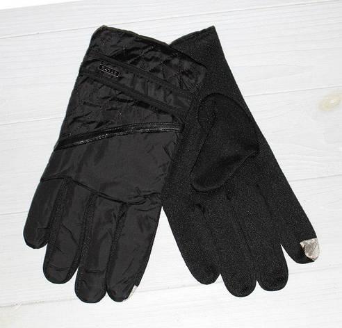 Перчатки стильные мужские утепленные, фото 2