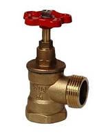 Клапан перекрывной муфтовый угловой DN25 PN16 (вн.)