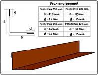 Планка внутреннего угла - 200 мм (2 м)