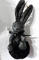 159 Оригинальный брелок заяц -Hade made, брелки для сумок и ключей, подарки. 20 см
