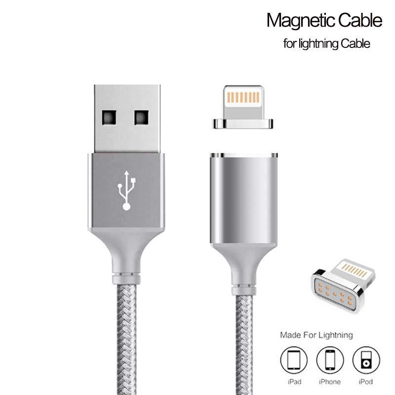 Кабель USB Apple IPod/IPad/IPhone 5/5s/5c/6+/6 Metal Magnetic