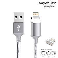 Кабель USB Apple IPod/IPad/IPhone 5/5s/5c/6+/6 Metal Magnetic, фото 1