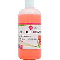 Жидкость для снятия гель-лака ViTinails Gel Polish Remover (Роза) 500 мл.