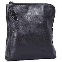 Мужская сумка через плечо из натуральной кожи коричневая Tofionno TF008681-121
