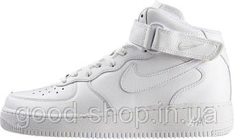 "Женские кроссовки Nike Air Force 1 white ""High"""