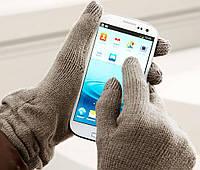 Осенние сенсорные женские вязанные перчатки от тсм Tchibo размер 7