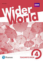Wider World 4 Teacher's' Book + DVD - Книга учителя