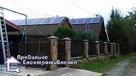 Мережева сонячна електростанція 30кВт, с. Великі Геївці, Закарпатьська обл.