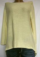 Женская кофточка крупной вязки, из мягкой пряжи, ZARA размер L, фото 1