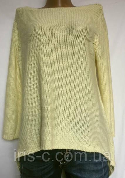 Женская кофточка крупной вязки, из мягкой пряжи, ZARA размер L