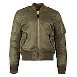 Куртка MA-1 SLIM FIT FLIGHT JACKET Alpha Industries демисезонная, фото 3