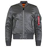 Куртка MA-1 SLIM FIT FLIGHT JACKET Alpha Industries демисезонная, фото 4