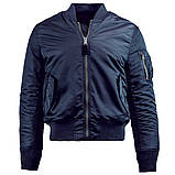 Куртка MA-1 SLIM FIT FLIGHT JACKET Alpha Industries демисезонная, фото 5