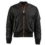 Куртка MA-1 SLIM FIT FLIGHT JACKET Alpha Industries демисезонная, фото 6