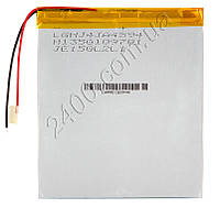 Мощный универсальный аккумулятор 6000мАч 4493105 мм 3,7в для планшетов Bravis, Nomi, ImPAD, Prestigio 6000mAh