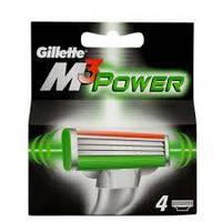 Сменные насадки Gillette Mach 3 power, 4 шт