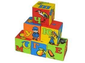"Мякиши 6 кубиков ""Абетка"""