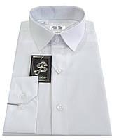 Рубашка мужская белая №10-32к.- Поплин белый