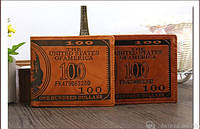 Мужской кожаный кошелек портмоне бумажник правник визитница Dr. Bond натуральная кожа