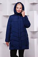Женское зимняя куртка на силиконе ML-085