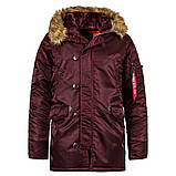 Куртка аляска Slim Fit N3b Parka Alpha Industries, фото 5