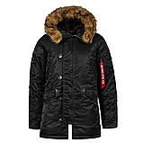 Куртка аляска Slim Fit N3b Parka Alpha Industries, фото 6